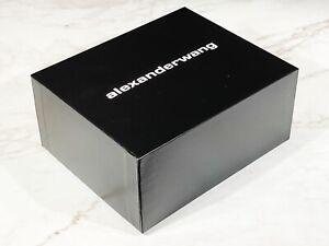 """SCATOLA CONFEZIONE LUSSO - GIFT BOX """"ALEXANDER WANG"""" 2021 ORIGINALE (22x18x10)"""
