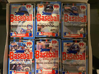 1988 Donruss Baseball Puzzle and Cards Hobby Box of 24 Count Sealed Cello Packs