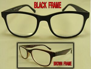 EXTRA STRONG +6.50 READING GLASSES MAGNIFIER PLASTIC FRAME CHOICE COLOR #1199