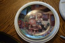 M.I. Hummel Plate Squeaky Clean Danbury Mint Gentle Friends Collection