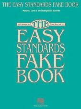 THE EASY STANDARDS FAKE BOOK MELODY LYRICS & SIMPLIFIED   CHORDS IN-ExLibrary