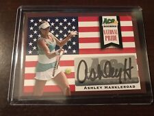 2013 Ace Authentic Grand Slam National Pride #NP-AH1 - Ashley Harklroad - Auto