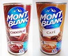 Pudding Dessert Creme Schokolade und Kaffee je 570g Dose Spar Angebot Mont Blanc