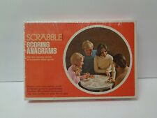 Vintage Scrabble Scoring Anagrams By Selchow & Righter New Free Shipping