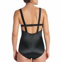 CALIA Womens Scoop Neck Caviar One Piece Swimsuit Size 6