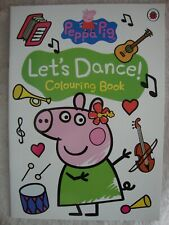 Peppa Pig Colouring Book Let's Dance! Colouring Book Brand New RRP £3.99