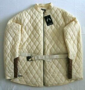 SOS Jensen Womens Lien Lightweight Quilted Jacket Yellow BNWT RRP £189.99 Size M