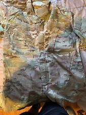 Medium  Long Used Top Only multicam  fire  resistant  jacket Multicam