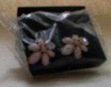 Floral Cluster Oversize Stud Earrings in Gift Box NIB