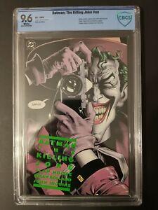Batman: The Killing Joke (1st Edition), 1988, CBCS Graded 9.6