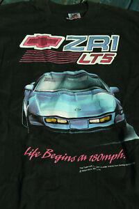 Officially licensed Corvette ZR-1  LT5 T-Shirt  Size M  RARE New Old Stock
