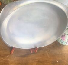 Vintage Nambe 10x10 Platter W166 Silver Metal Alloy Serving Tray 1984