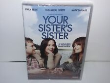 Your Sisters Sister (DVD, Region 1, Canadian, Widescreen) NEW - Extras - No Tax