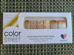 COLOR STREET NAIL STRIPS - PAWS FOR THE CAUSE **RETIRED RARE HTF**