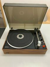 RARE ALMOST PERFECT REMAINING SWISS MADE LENCO L65 BELT DRIVEN STEREO TURNTABLE