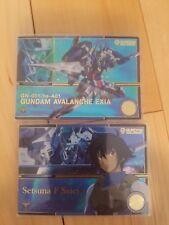 Gundam Duel Company Bandai carddass cards 00 R6 Gundam Exia Setsuna