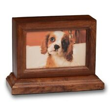 ROSEWOOD PHOTO FRAME PET URN - 2ND QUALITY - FREE SHIPPING U.S.A. - #2730