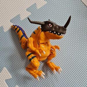Digimon Greymon digivolving figure Bandai 1999