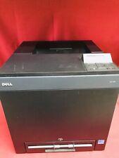 Dell 2130cn Color Laser Printer w Power/USB Cords-Works Good