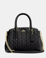 COACH Mini Sage Carryall With Quilting