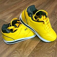 Phat Farm Yellow Toddler Shoes Size 10 US Worn In House