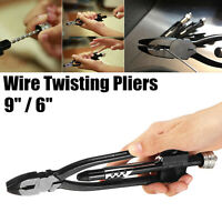 6'' 9'' Aircraft Motocycle Safety Wire Twister Twist Twisting Lock Pliers Tool