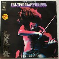 TAJ MAHAL / LEONARD COHEN / JANIS JOPLIN Fill Your Head With Rock 2LP CBS VG++