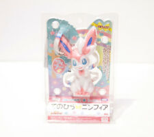 "Pokemon 2013 Takara Tomy Sylveon Palm Top Talking 4.75"" Figurine - RARE!!"