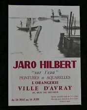 Lithographie JARO HILBERT L'ORANGERIE Ville d' Avray 1960?