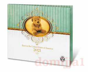 🎀 2021 US Mint Birth coin Set (21RD) / Same Day Shipping!