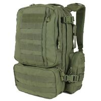 Condor 169 OD Green MOLLE Tactical Modular Convoy Outdoor Hiking Pack Backpack