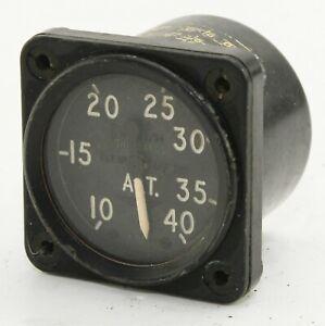 Cabin altimeter 6A/2709 for RAF Vampire T11 etc (GB10)