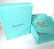 TIFFANY & CO 18kt YG 4 mm Band Ring * GAL APPRAISAL * Tiffany pouch/box