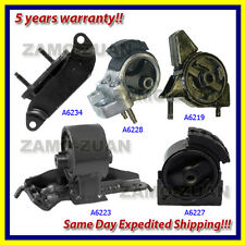 90-92 Toyota Corolla 1.6L 2WD 3 Spd Engine Motor & Trans Mount Set 5PCS
