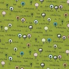 Moda Sweetwater Road 15 City Park Fabric in Pickle Green 5523-13 Trees