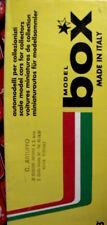 Catalogo BOX MODEL cars Ferrari 1988 - ITA - Tr.17