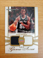 DAVID ROBINSON 2007-08 Fleer Hot Prospects /99 Dual Game Issue #DR  ID:593