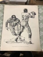 1960 Shell Oil Gasoline - New York Giants HOF Andy Robustelli - Print Giveaway!