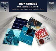 Tiny Grimes FIVE (5) CLASSIC ALBUMS In Swingville CALLIN' THE BLUES New 4 CD