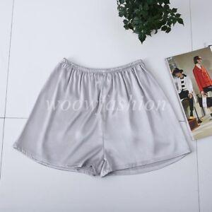 Ladies Anti Static Pettipants Slip Bloomers Satin Shorts Underpant Lingerie Plus