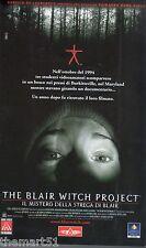 The Blair Witch Project. Il mistero della strega di Blair (1999) VHS