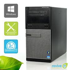 Custom Build Dell Optiplex 3010 Mt i3-3220 3.30Ghz Desktop Computer Pc