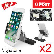 2x Alightstone Universal 360°CD Slot Car Mount Holder GPS iPhone 8 X 7 Samsung