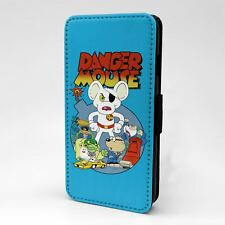 For Apple iPod Touch Flip Case Cover Danger Mouse - T784
