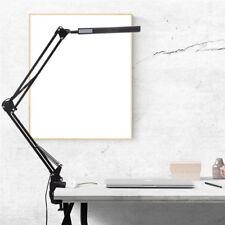 Art Home Office Desk Lamp Clip On Flexible Long Arm LED Table Lamp Read Light X1