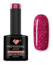 VB-2685 VB™ Line Hot Pink Glitter Saturated - UV/LED soak off gel nail polish