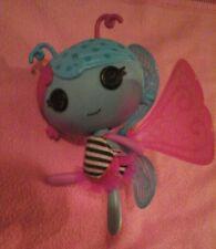 Lalaloopsy Littles Lala-Oopsies Doll Fairy Lilac  Wings  Blue Pink &Sleeping Bag
