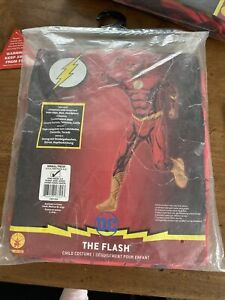 The Flash | Boys Fancy Dress DC Comic Superhero Kids Childs Costume | 3-4 Years