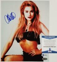 Christina Applegate signed 8x10 Photo Married With Children (B)~ Beckett BAS COA