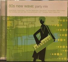 80S NEW WAVE: PARTY MIX - 17 TRACK MUSIC CD - LIKE NEW - E975